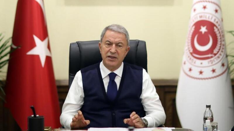 Milli Savunma Bakanı Hulusi Akar açıklamalarda bulundu