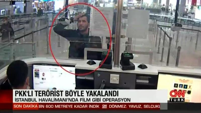 İstanbul Havalimanı'nda film gibi operasyon! PKK'lı terörist böyle yakalandı