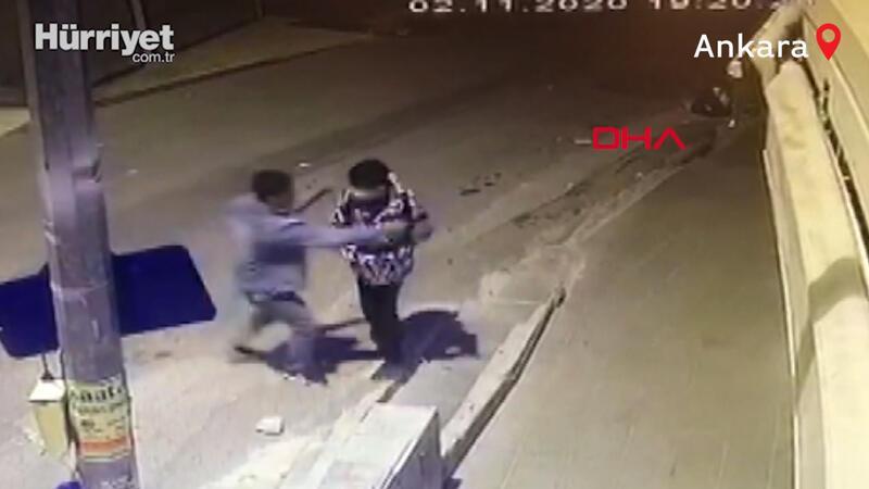 Ankara'da çocuğun telefonunu gasbeden şüpheli, tutuklandı