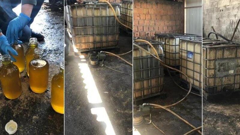 Mardin'de 11 bin 637 litre gümrük kaçağı akaryakıt ele geçirildi