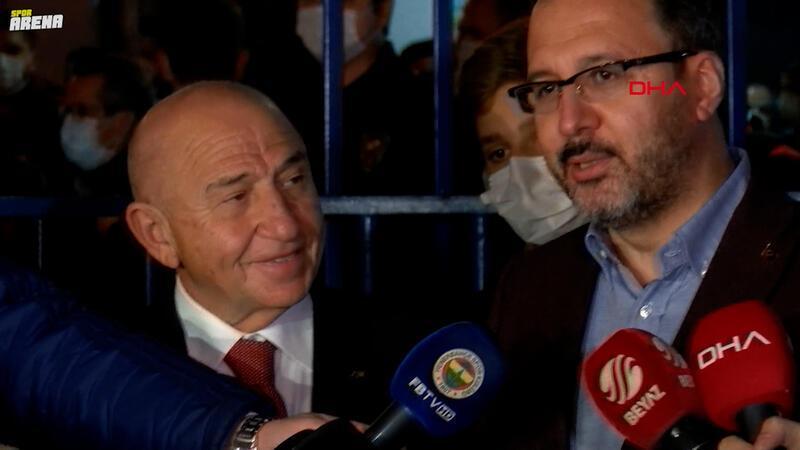 Bakan Kasapoğlu ve Nihat Özdemir açıklamalarda bulundu