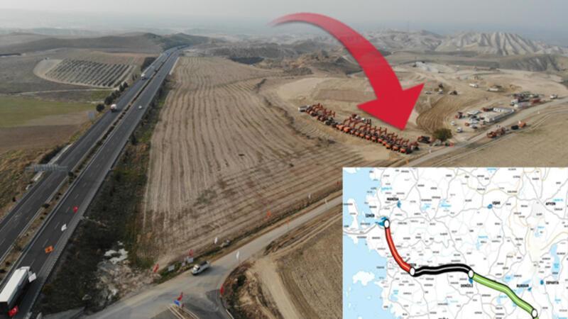 Bakan Karaismailoğlu, Aydın-Denizli Otoyolu'nun temel atma töreninde konuştu