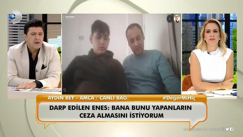 Darp edilen Enes Yağcı yaşadığı şiddeti ilk kez canlı yayında anlattı!