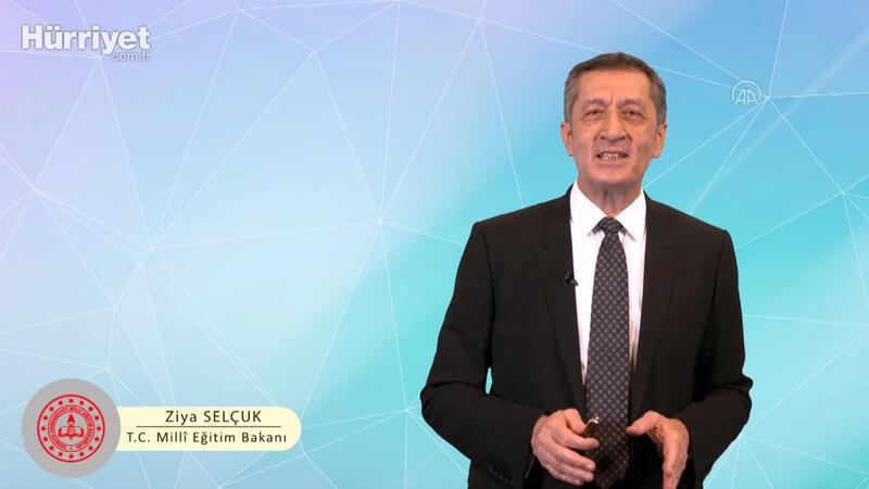 Milli Eğitim Bakanı Selçuk, EBA internet portalından öğretmenlere hitap etti