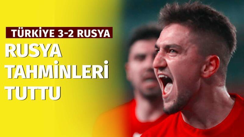 Deniz Satar ve Tolga Kuru'nun Türkiye - Rusya tahminleri tuttu!