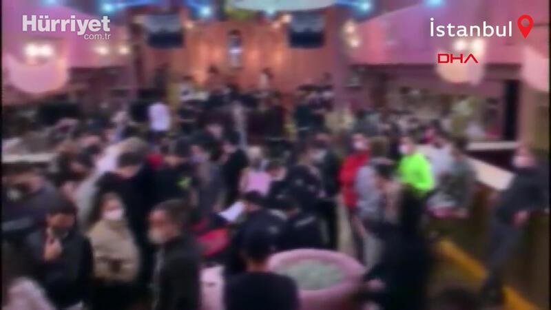 Şişli'de eğlence merkezine baskın... Partiye katılanlara 194 bin lira ceza verildi