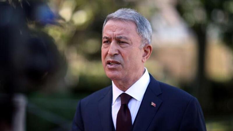 Son dakika: Milli Savunma Bakanı Akar'dan flaş açıklama