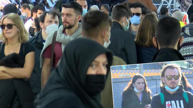 Eminönü'nde tedirgin eden görüntü! Manzara yine aynı…