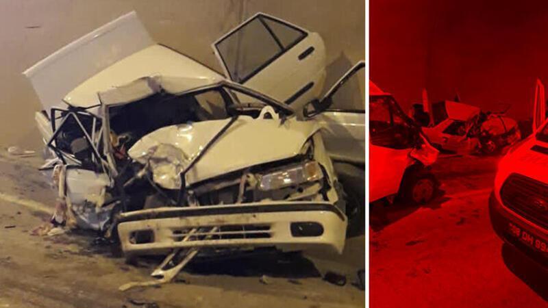 Artvin'de minibüsle otomobil çarpıştı: 1 ölü, 4 yaralı