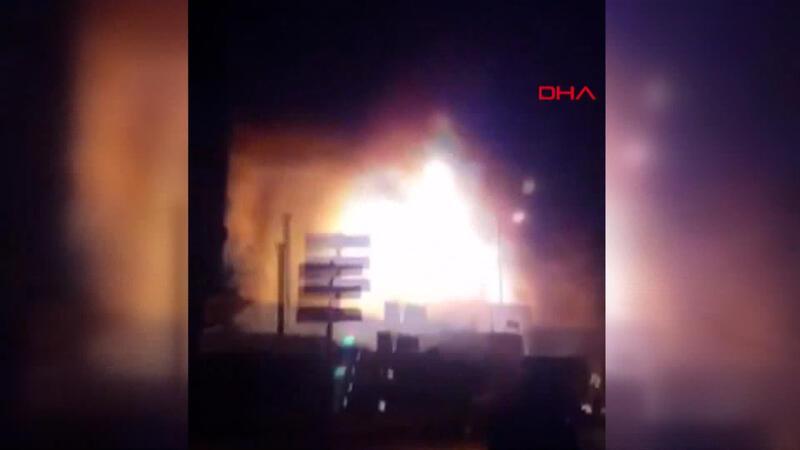 Son dakika haber... Bahçelievler'de tekstil atölyesindeki patlamadan yeni görüntü