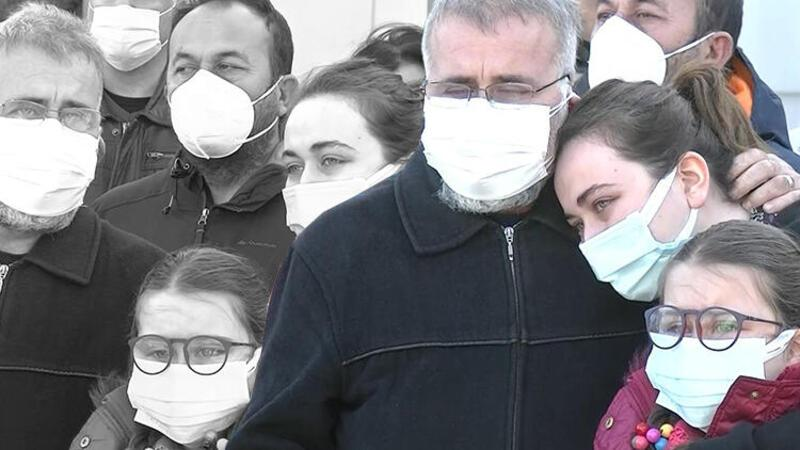 Koronavirüsten hayatını kaybeden Emine hemşireye veda...