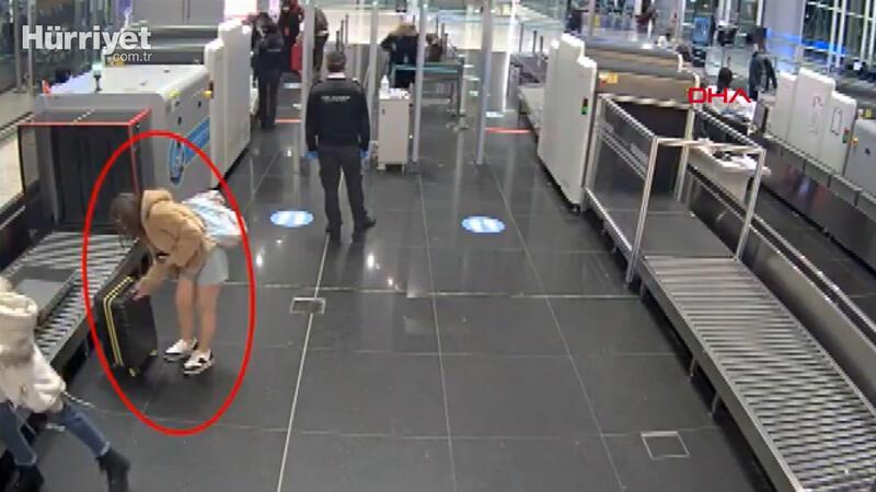 PKK'lı kadın sahte pasaportla yurt dışına kaçmak isterken yakalandı