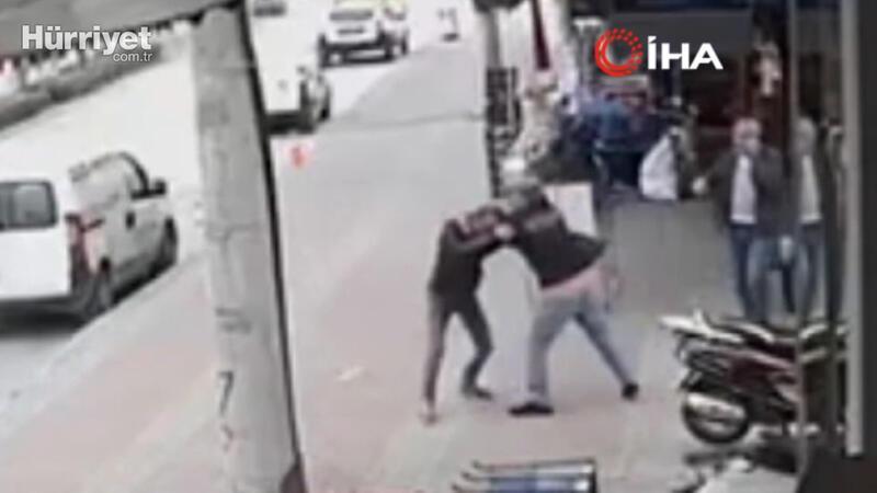 'Personelin geç geliyor' şikayeti tekme tokat kavgaya döndü...O anlar kamerada