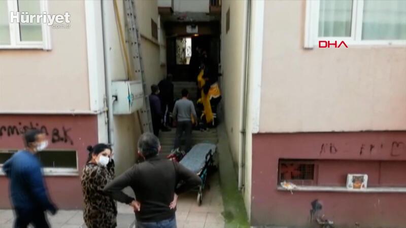 5 katlı apartmanın çatısından düşen Suriye uyrukluAhmadinAffan (14) yaşamını yitirdi.