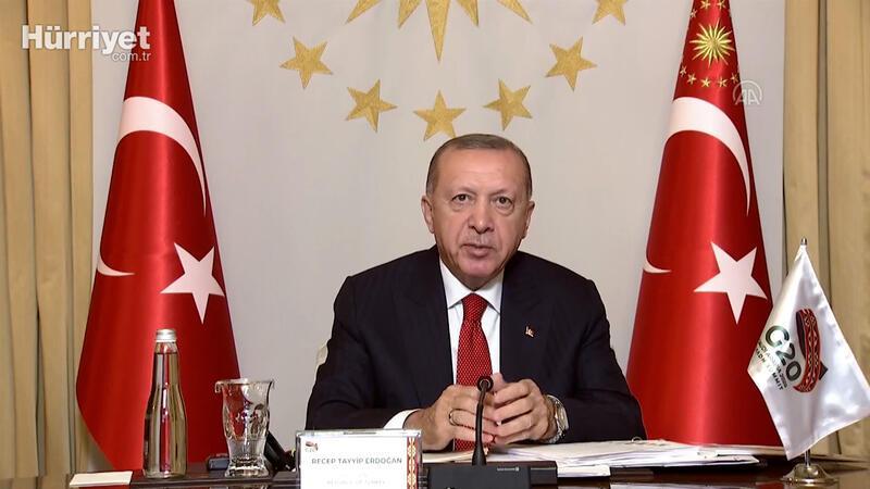 """Cumhurbaşkanı Erdoğan: """"Türkiye'nin üreteceği aşıyı tüm insanlığın hizmetine sunacağız"""""""