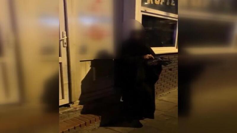 Tuzla'da kedi kesip yediği iddia edilen kadın gözaltına alındı