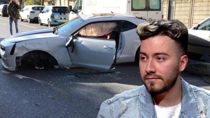 Youtuber Enes Batur ölümden döndü.