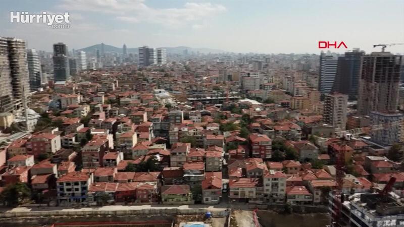 Fikirtepe'nin havadan görüntüleri