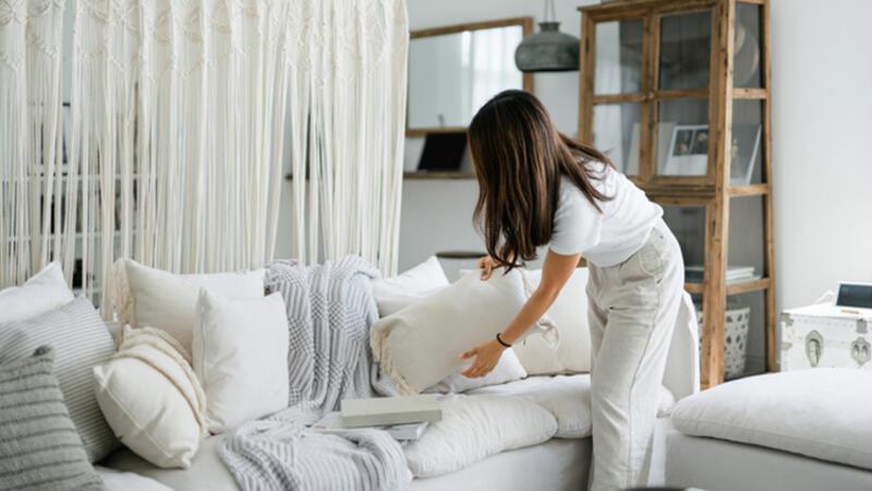 Evdeki dağınıklığı azaltmak için pratik öneriler