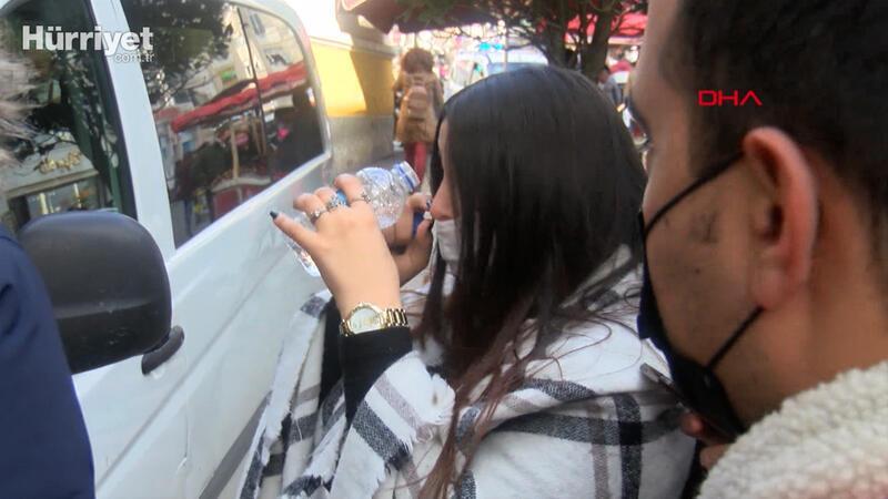 Taksim'de maske ve sigara denetimi; Çoğunlukla kuralları yabancılar ihlal ediyor