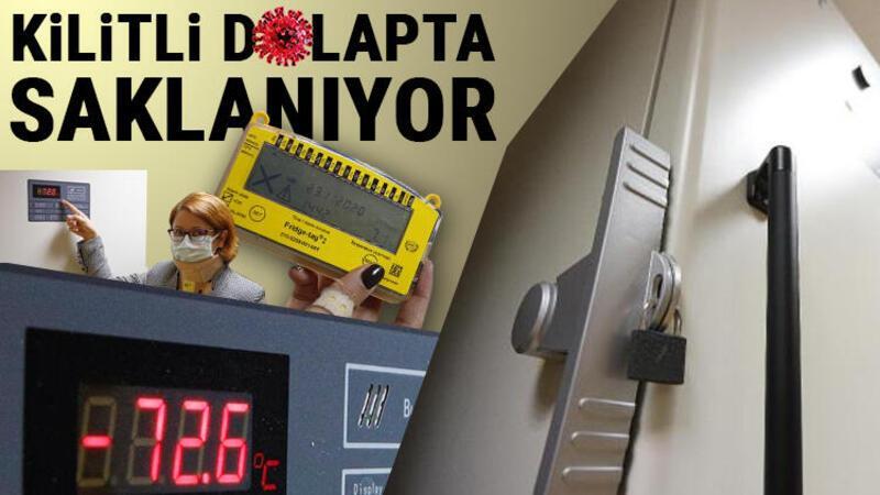 Hacettepe'de, Türk profesörün aşısı eksi 72, Çin aşısı artı 4'te tutuluyor
