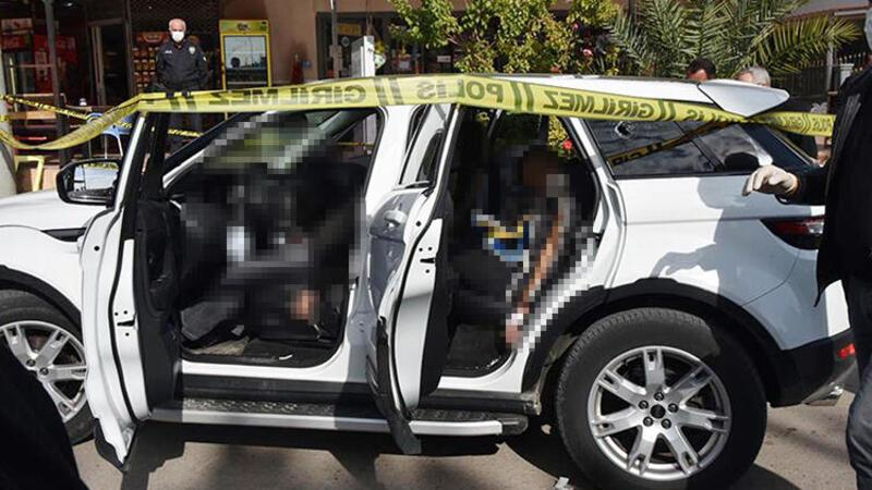 Antalya'da lüks cipte infaz... 3 ölü