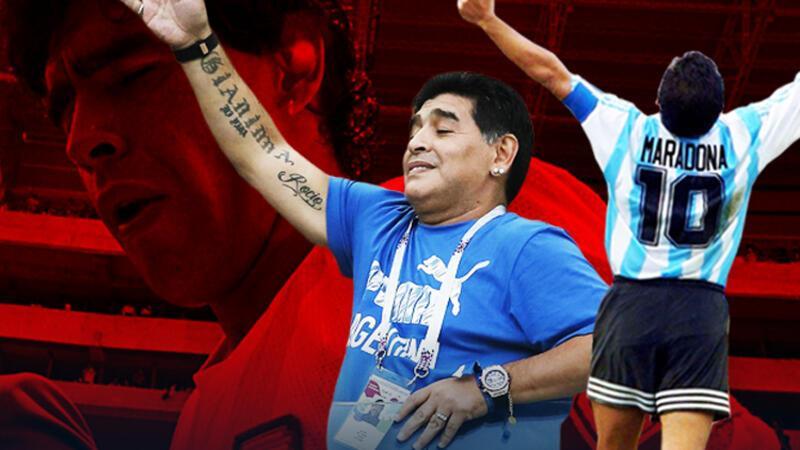 Eskiye dönüş: İstanbul Atatürk Havalimanı'ndan Diego Armando Maradona geçti...