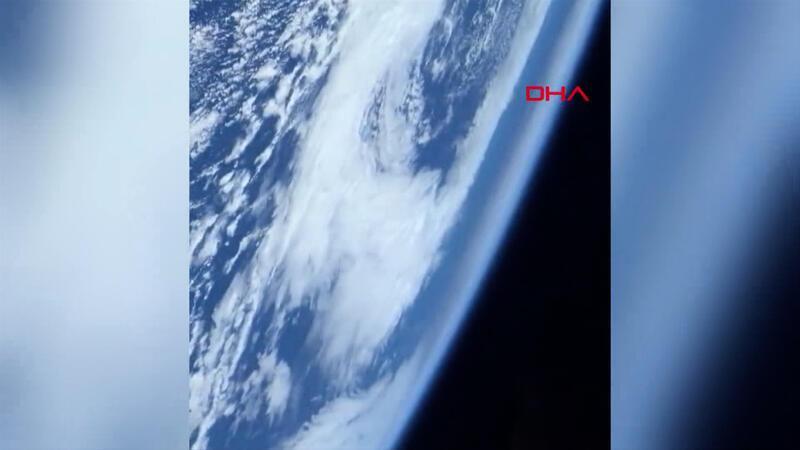 NASA astronotu Glover, uzaydan ilk videosunu paylaştı