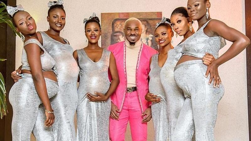 Sosyal medya fenomeni düğüne altı hamile kadınla geldi, yaptığı açıklama dünyayı şoke etti!