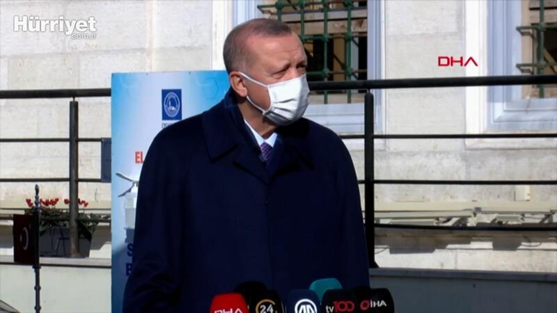 Cumhurbaşkanı Erdoğan, cuma namazı sonrası soruları yanıtladı