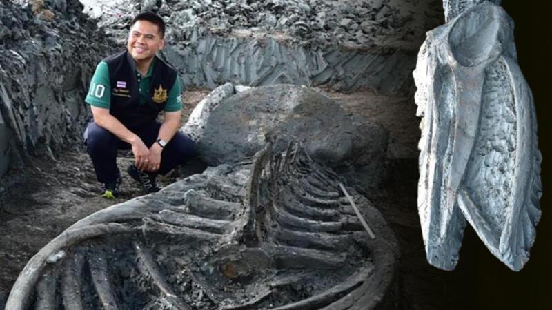 Son dakika haberler: Tayland'da buldular... Tam 5 bin yaşında!