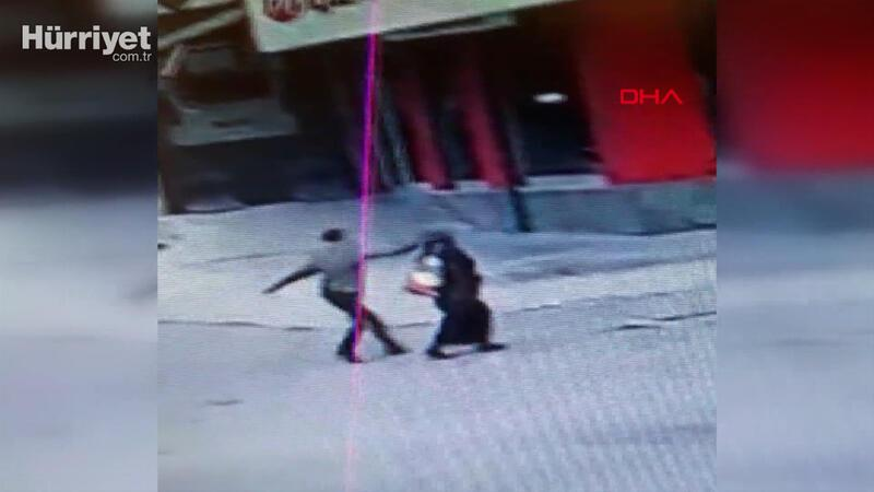 Gaziosmanpaşa'daki kapkaççı dehşeti kamerada