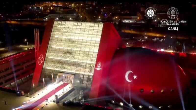 Cumhurbaşkanı Recep Tayyip Erdoğan, Cumhurbaşkanlığı Senfoni Orkestrası yeni binası açılışına katıldı