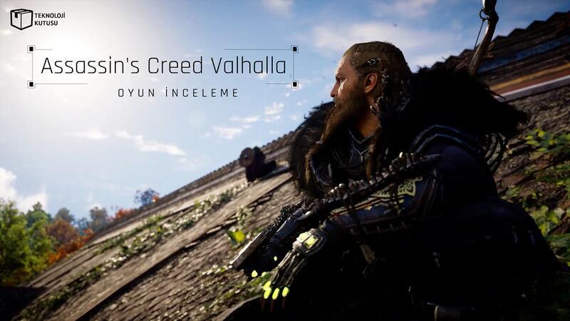 2020 yılının en iyi oyunu: Assassin's Creed Valhalla