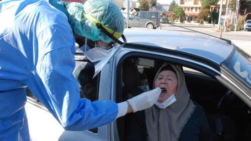 Bartın'a il dışından gelenlere PCR testi yapılmaya başlandı