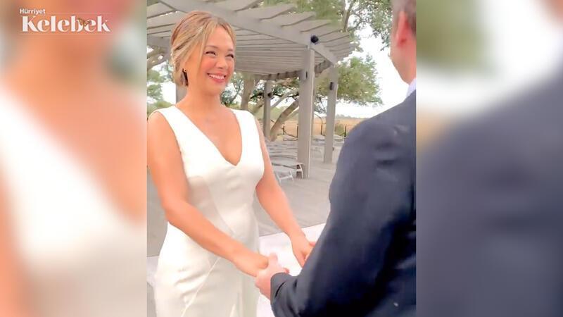 Uzun zamandır Amerika'da yaşayan oyuncu Didem Erol evlendi