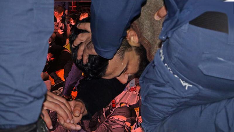Falezlerden düştü, deniz polisi kurtardı