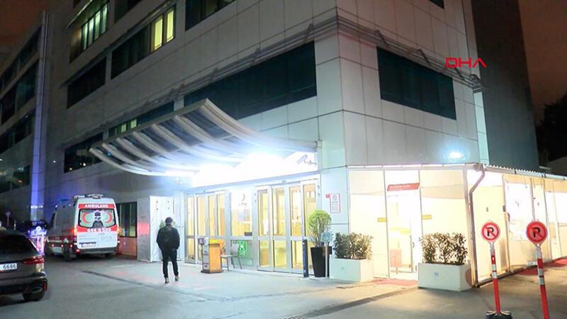 Galatasaraylı Omar Elabdellaoui hastaneye kaldırıldı