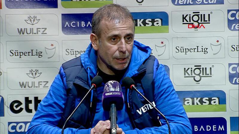 Abdullah Avcı: Trabzonspor her zaman yukarıya oynar