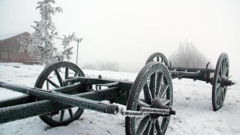 Eksi 25 dereceyi gördü! Ardahan'da soğuk hava etkili oluyor