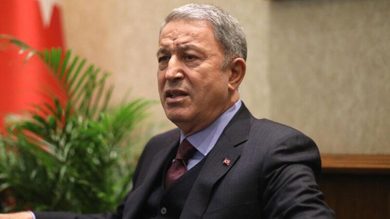 Bakan Akar, Almanya'nın Ankara Büyükelçisi Jürgen Schulz'u kabul etti