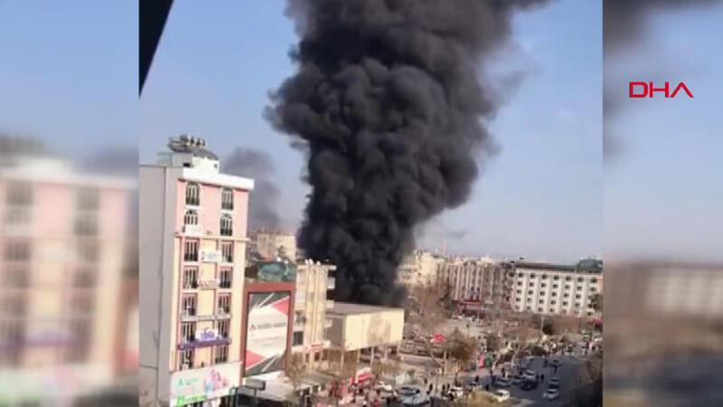 Adıyaman'da yakıt tankeri patladı! Olay yerinden ilk görüntüler