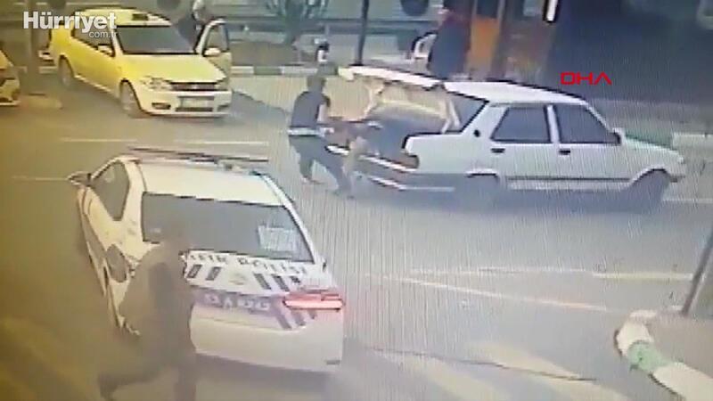 Kaçırıp dövdükleri adamı, yarı çıplak bagajdan atarken yakalandılar