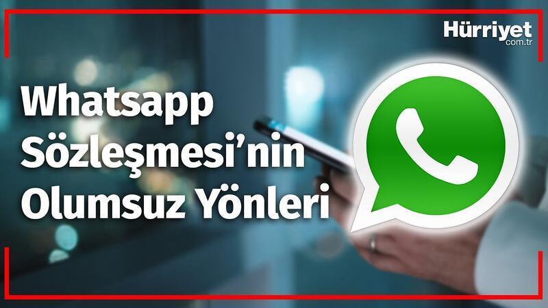 WhatsApp 2021 Sözleşmesinin Dezavantajları Nelerdir ?