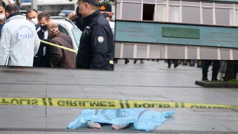 Şişli'de acı olay! 6'ncı kattan düşen kadın hayatını kaybetti