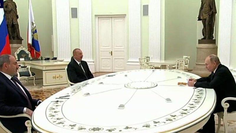 Moskova'da Karabağ zirvesi başladı