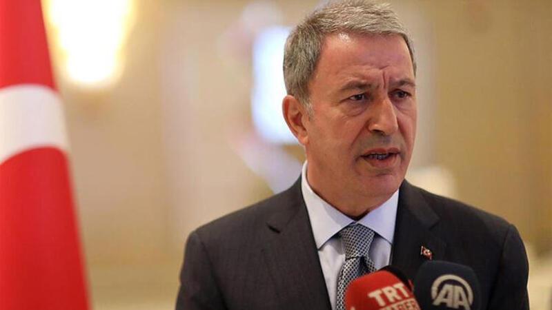 Milli Savunma Bakanı Hulusi Akar'dan Fransa'ya sert tepki