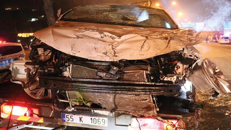 Samsun'da trafik kazası: ölü ve yaralılar var