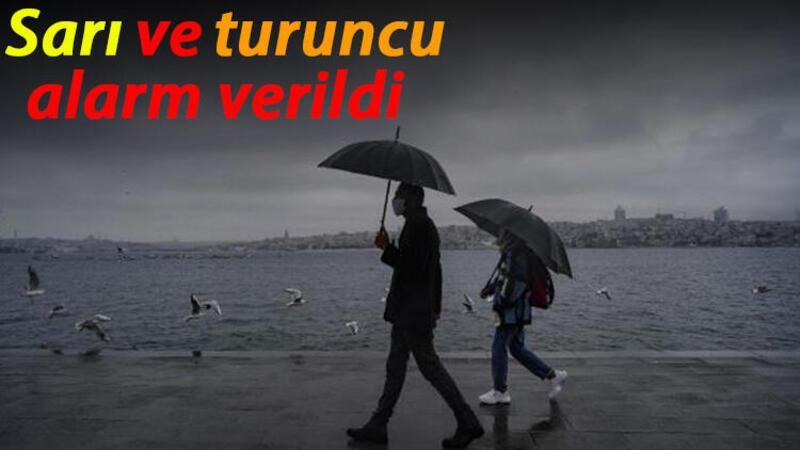 Meteoroloji'den birçok ile yağış önerisi
