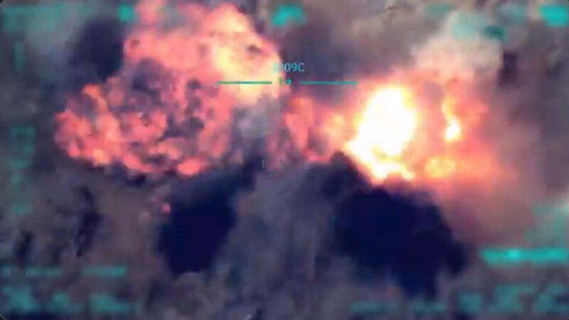 8 PKK'lı terörist hava harekâtıyla etkisiz hale getirildi